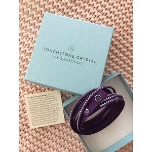 Touchstone Crystal by Swarovski purple